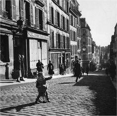 montmartre rue tholoze 1934 doisneau