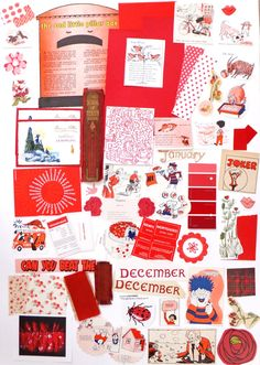 Red Collage papers, Eco-friendly Paper Ephemera pack, Collage pack,  64 pieces scrap pack, Ephemera lot, paper scraps, craft supplies by PeonyandThistle on Etsy https://www.etsy.com/uk/listing/240129435/red-collage-papers-eco-friendly-paper