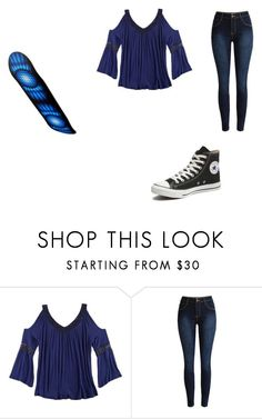 """""""Untitled #3357"""" by sailormoon365 ❤ liked on Polyvore featuring Converse, women's clothing, women's fashion, women, female, woman, misses and juniors"""
