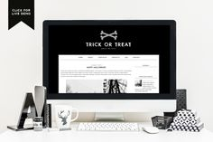 Free Monthly Blogger Template | October - Designer Blogs