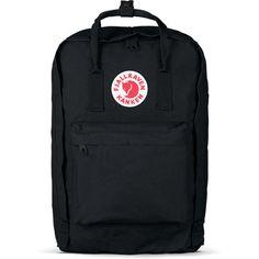 """Fjallraven - Kanken 15"""" Laptop Backpack, Black"""