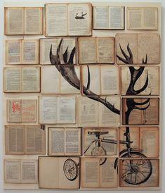 Maravillosas Pinturas en Libros por Ekaterina Panikanova | FuriaMag | Arts Magazine
