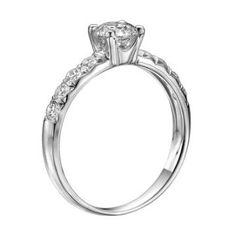 https://ariani-shop.com/igi-certified-14k-white-gold-round-cut-diamond-engagement-ring-093-cttw-i-col2-clarity IGI Certified 14k white-gold Round Cut Diamnd Engagement Ring (0.93 cttw, I Color, SI2 Clarity)