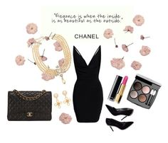 """Channel"" by rachaelra ❤ liked on Polyvore featuring beauty and Chanel"