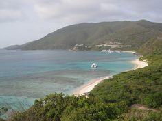 Yachts at Pond Bay, just beyond Savannah Bay, Virgin Gorda, British Virgin Islands - July, 2012