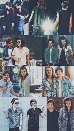 Find images and videos about louis tomlinson, Harry Styles and larry on We Heart It - the app to get lost in what you love. One Direction Fotos, One Direction Wallpaper, One Direction Harry, One Direction Pictures, Direction Quotes, Larry Stylinson, Niall Horan, Zayn, Louis E Harry
