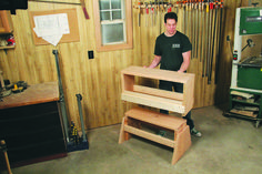 This sawhorse/workbench combo is made using dimensional pine construction lumber from a home center. It's rugged and inexpensive, with no complicated joinery –… Woodworking Courses, Best Woodworking Tools, Woodworking Organization, Woodworking Garage, Cool Woodworking Projects, Woodworking Workbench, Woodworking Techniques, Woodworking Supplies, Woodworking Beginner