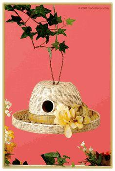Recaptured Charm: Birdhouses