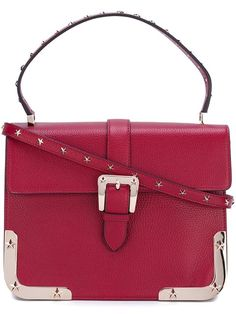6efe65013df76 Red Valentino Studded Satchel Bag - Farfetch. Taschen ...