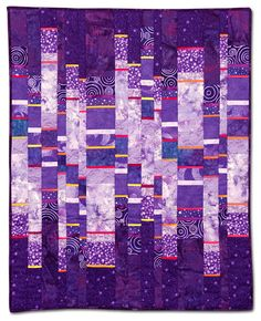 Empire Quilters Guild: Showcase Purple Haze by Barbara Hull