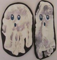 spookje uit voet/hand
