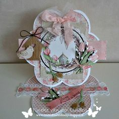 Marianne Design Cards, Easel Cards, Flower Cards, Tag Art, Box, Card Making, Spring, Flowers, Gifts