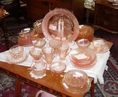 Discover More about Depression Glass: Depression Glass - A Closer Look  http://antiques.about.com/od/depressionglass/tp/dghub041209.htm  for an abundance of information