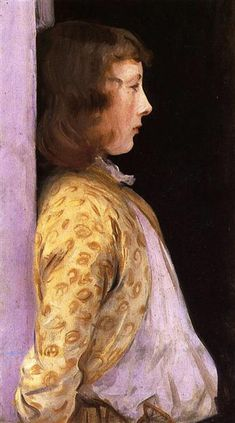 Portrait of Dorothy Barnard John Singer Sargent -- American painter 1889 Jamie Wyeth, Andrew Wyeth, Beaux Arts Paris, Giovanni Boldini, Art Brut, Oscar Wilde, Claude Monet, Oeuvre D'art, American Artists
