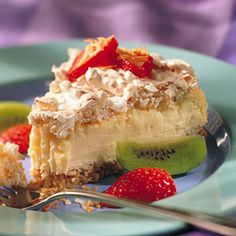 Coconut Macaroon Cheesecake, from Better Homes & Gardens.