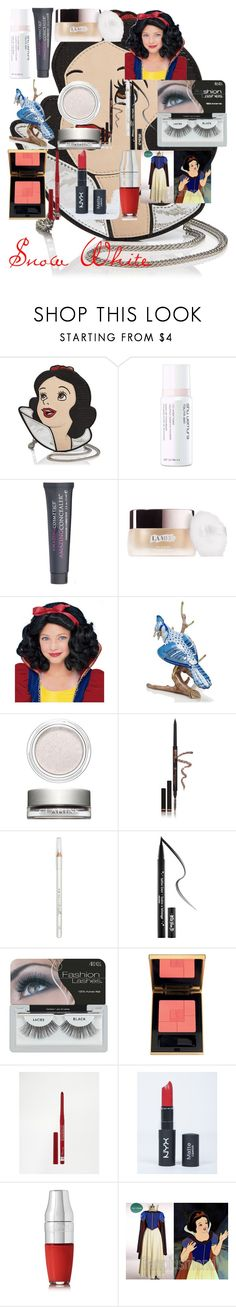 """""""Snow White"""" by oroartye-1 on Polyvore featuring beauty, Danielle Nicole, shu uemura, Amazing Cosmetics, Herend, Clarins, Anastasia Beverly Hills, Barry M, Kat Von D and Ardell"""