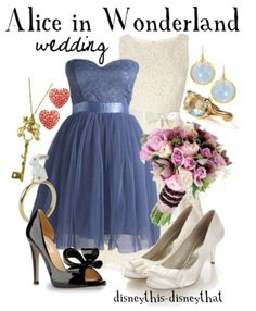 Disney Alice in  Wonderland wedding #disney #disneywardrobe