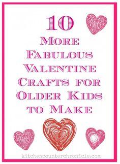valentine crafts for older kids to make