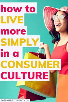 In a culture focused on consumerism, living simply can be a challenge. Use these practical tips in your journey to simplify your life. #simplify #consumerism #simplelivingtips Feeling Let Down, Feeling Empty, How Are You Feeling, Family Mission Statements, Consumer Culture, Specific Goals, Focus On Your Goals, Dealing With Stress, Life Choices