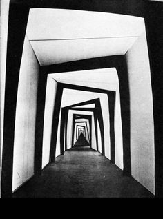 """Robert Wiene, Set Design From """"The Cabinet of Dr Caligari"""" Dr Caligari, Theatre Design, Stage Design, Design Set, Modern Design, Robert Wiene, Night Circus, Photocollage, Scenic Design"""