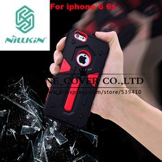 Nillkin Defender Case Stand Impact Hybrid Armor Hard Cover For Apple iphone 6 6s 4.7 inch Phone Cases For iphone 6s skin case