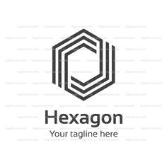 Hexagon Logo Template! Buy logo for $10! Buy Logo!