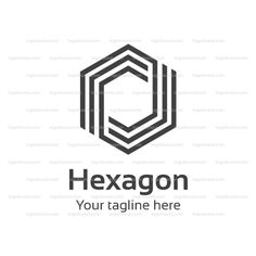 Hexagon Logo Template! Buy logo for $10! Buy Logo!