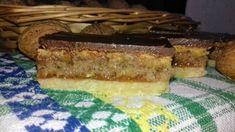 Hnetený orechový koláč s piškótou (fotorecept) - recept | Varecha.sk Czech Recipes, Pie, Sweet, Basket, Torte, Candy, Cake, Fruit Pie, Pies