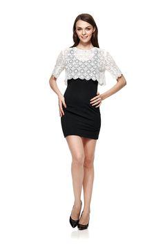 Intelligent Women, Collar Designs, Round Collar, Half Sleeves, Peplum Dress, Personality, Sunshine, Tights, Fashion Dresses