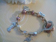 Breien koningin Macrame armband met kralen door JakePrairieCreations