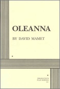 Amazon.com: Oleanna (9780822213437): David Mamet: Books