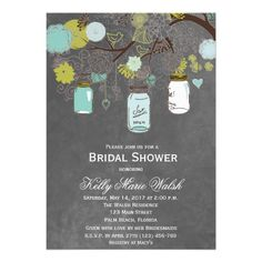 See MoreBlackboard Rustic Mason Jar Bridal Shower Invites Custom Announcementin each seller & make purchase online for cheap. Choose the best price and best promotion as you thing Secure Checkout you can trust Buy best