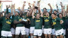 SA win third Rugby World Cup, beat England in final: South Africa got six more points from penalties in the first… South Africa Vs Australia, Springbok Rugby Players, Dan Cole, Rugby Championship, Penalty Kick, Shoulder Injuries, All Blacks, Rugby World Cup, Wales
