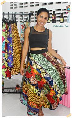 Saia africana - African Shirt