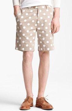 Real men wear polka dots.