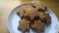 Latest recipe - sugar free gingerbread stars