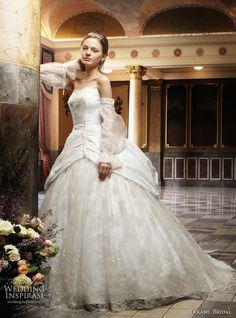royal wedding dress designer takami bridal