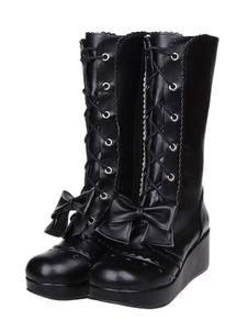 gothic lolita sapatos, lolita calçados de alta qualidade, gothic lolita sapatos - página 4 - Lolitashow.com