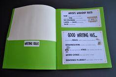 Teach-A-Roo: Writer's Workshop Folders