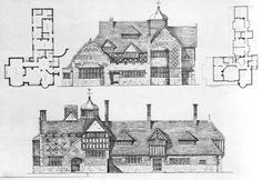 Voysey 1885 House with an octagonal hall