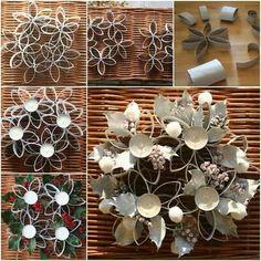 Riciclo in arte dei rotoli di carta igienica. 20 idee da riprodurre assolutamente. [TUTORIAL]