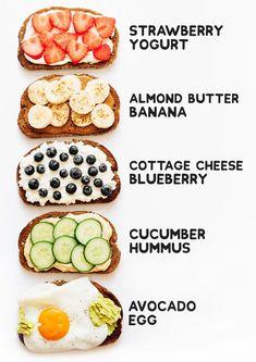 Healthy Meal Prep, Healthy Breakfast Recipes, Vegetarian Recipes, Healthy Eating, Eating Clean, Dinner Healthy, Healthy Drinks, Healthy Snacks Vegetarian, Healthy Breakfasts