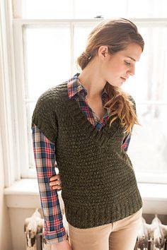 Cypress Pullover Pattern by Brooklyn Tweed from Knit Purl website. I wonder if this would look okay  on me
