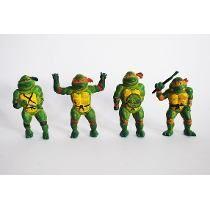 Figuritas tortugas ninja #retro de estas tb tuve en mi niñez!! jaajja