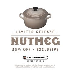 Love This Color Now Available At Le Creuset Outlet S Nationwide