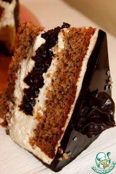 """Торт """"Чернослив в шоколаде"""" - кулинарный рецепт"""