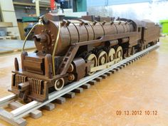 1949 Reading Steam Freight Train 1/38th escala - Por bj383ss@LumberJocks.com ~ comunidad párr Trabajar la madera