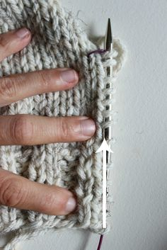 Picking Up Stitches Tutorial