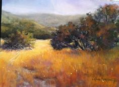 Autumn Glow by LaVone Sterling Pastel ~ 9 x 12