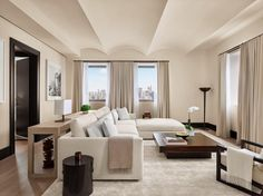 Most Stylish Hotels in New York - New York Edition Hotel -| Architectural Digest